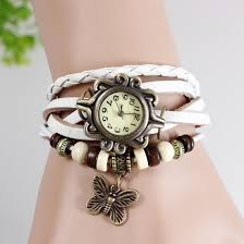 vintage bracelet watches images Buy pure leather vintage bracelet watch white in women 39 s watches jpg