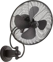14 inch wall fan international 94144 69 piazza 14 inch wall fan in noir with 4 matte