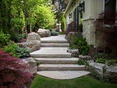 Front Entrance Landscaping Ideas Keystones Are Great And Ledges Grand Front Entrance Landscape
