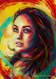 painting colour olivia photoshop cintiq olivia wilde painting colour