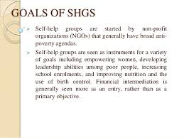 self help finance of self help groups through micro finance for poverty meaning