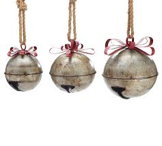 handmade rustic jingle bell set