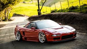 Honda Acura Nsx Slammed Hd Wallpaper Cars Wallpaper Better