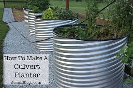 How To Make Planters by Jenna Blogs How To Make A Culvert Garden Planter