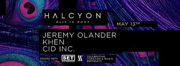 Design K Hen Set With Jeremy Olander Cid Inc U0026 Khen U2013 Tickets U2013 Halcyon U2013 San