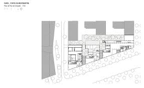 Auto Use Floor Plan by Gallery Of Montmatre Mixed Use Babin Renaud 16