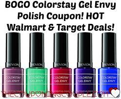 bogo colorstay gel envy polish coupon walmart u0026 target deals