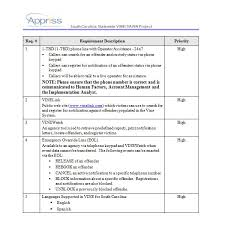 Requirements Template Excel 3 Quality Requirements Gathering Templates