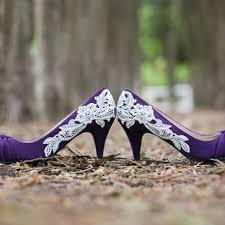 wedding shoes purple wedding shoes royal blue wedding heels from walkinonair on