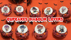 diabolik lovers cupcakes halloween youtube