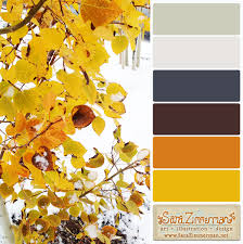 fall meets winter color palette sara zimmerman art illustration