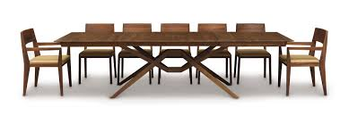 dining room extension tables the exeter dining room is crafted in solid american black walnut