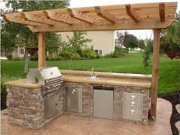 outdoor kitchen idea best 25 outdoor kitchen design ideas on backyard