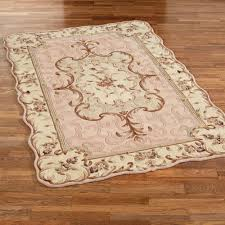 Wool Area Rugs Emmalee Scalloped Wool Area Rugs