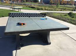 ping pong table cost diy concrete ping pong table diy ideas