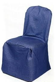 blue chair covers denim chair cover