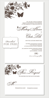 wedding invitation word templates free wblqual com