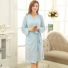 robe de chambre été nouvelles femmes de mode d été coton serviette peignoir éponge