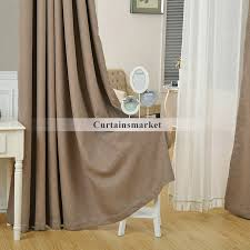 Drapes Discount And Discount Curtains Drapes In Dark Coffee Color
