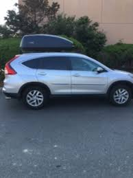 honda crv cargo box roof rails and cargo box 2016 cr v