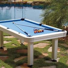 Dallas Cowboys Pool Table Felt by Imperial 7 U0027 Non Slate Outdoor Pool Table