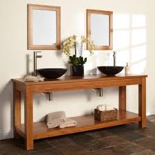 bathroom double sink vanity for functional and decorative