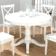 Circle Dining Table White Circle Dining Table Sophisticated White 4 Dining Table