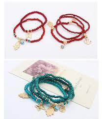 evil eye charm bracelet images Hand of fatima and turkish evil eye charms multilayer bracelets jpg