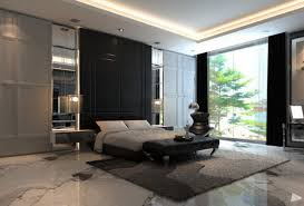 magnificent contemporary apartment living room design with black