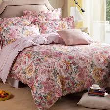 romantic luxury floral lavender duvet covers queen size