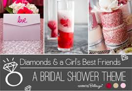 unique bridal shower ideas diamonds and a girl s best friends bridal shower theme unique
