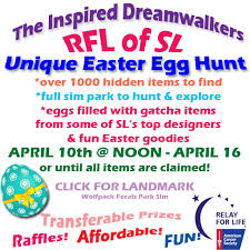 inspired dreamwalkers relay for life of sl u2026 dreaming u0026 relaying
