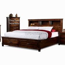 King Platform Bed With Drawers by King Size Bed Storage 5 Gallery Image And Wallpaper