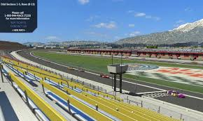 Phoenix International Raceway Map by Maps Auto Club Speedway