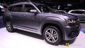2018 volkswagen atlas interior 2018 volkswagen atlas r line exterior and interior walkaround