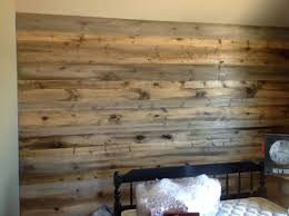 Old Wood Wall Wood Feature Walls New Pine Planks Stained To Look Like Salvaged