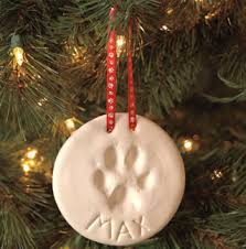 free salt dough pet paw print ornament kit listia