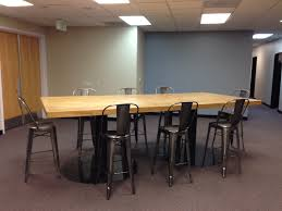 Bar Height Conference Table Custom Conference Table Bar Height Feruxe Custom Conference