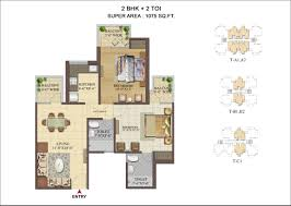 2bhk Plan Index Of Images
