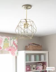 Globe Ceiling Light Fixtures by Diy Geometric Globe Pendant Light Atta Says