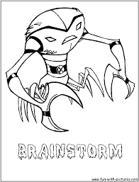 printable coloring pages ben 10