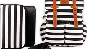 black and white striped gift bags bag by hip cub weekender tote designer canvas w