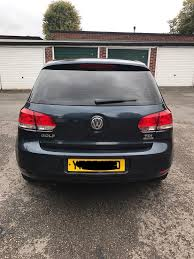 2010 mk6 v w golf tdi bluemotion tech se in manchester airport