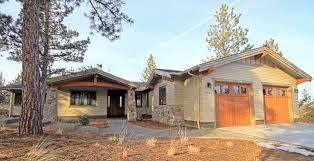 Craftsman Style Ranch Homes Custom Homes In Bend Homeland Design Llc