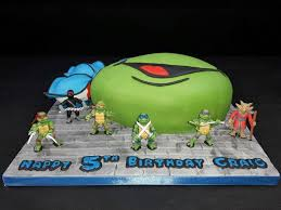 tmnt cake mutant turtle cake 6 steps with pictures