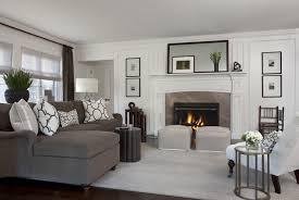 Living Rooms With Gray Sofas Gray Velvet Sofa Transitional Living Room Marianne Jones