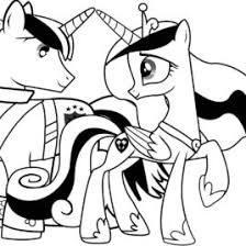 coloring page my little pony friendship is magic archives mente