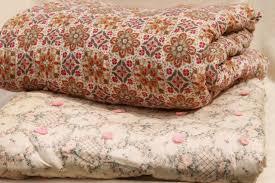 shabby chic vintage print cotton quilt comforters soft warm