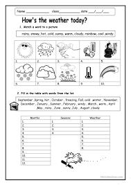 how u0027s the weather worksheet free esl printable worksheets made