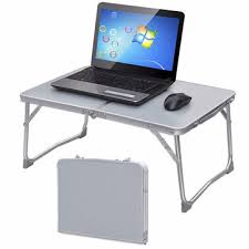 Camping Folding Bed Portable Picnic Camping Folding Table Laptop Desk Notebook Bed